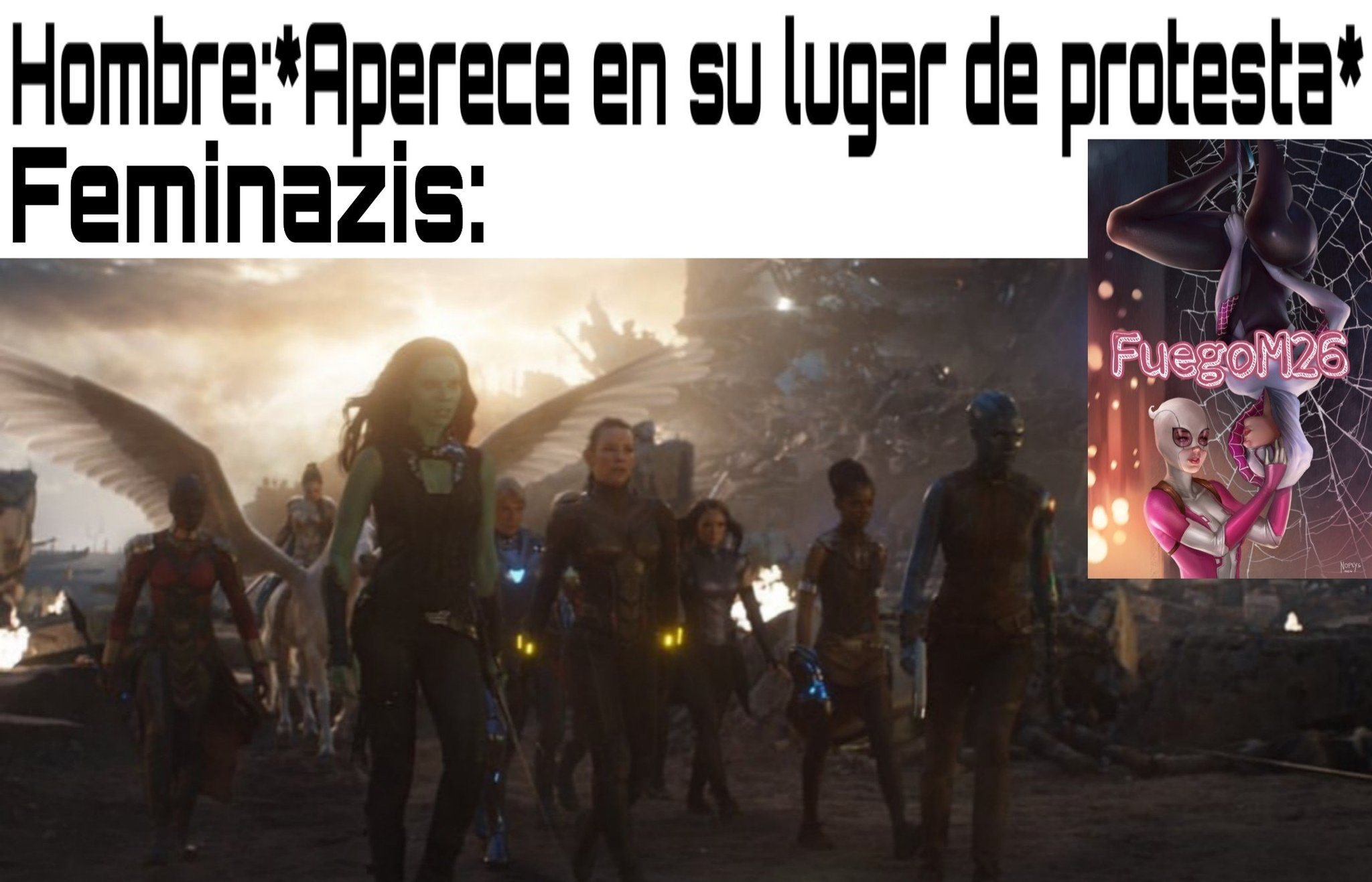 Todas las plantillas de End Game en HD(? - meme