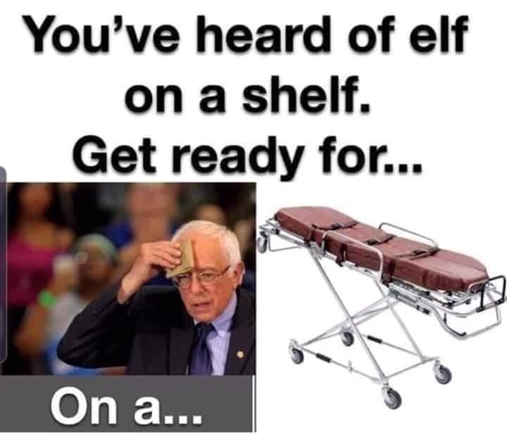You've heard of elf on the shelf - meme