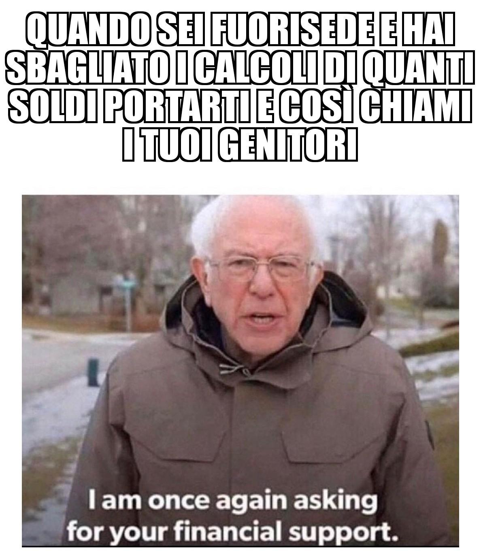 Supporto finanziario - meme