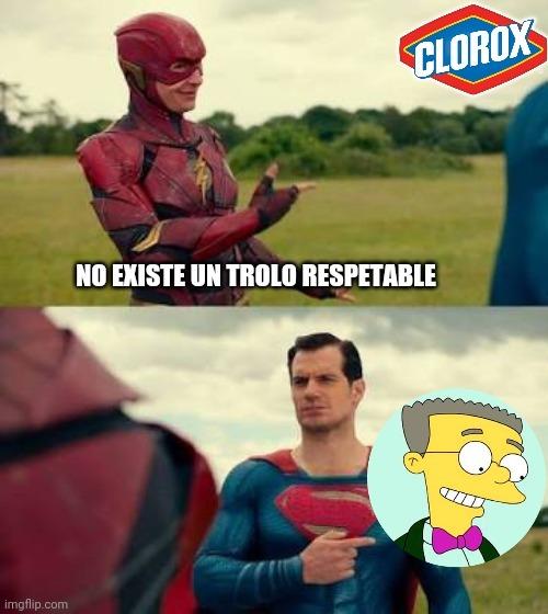 El clorox es marca de agua - meme
