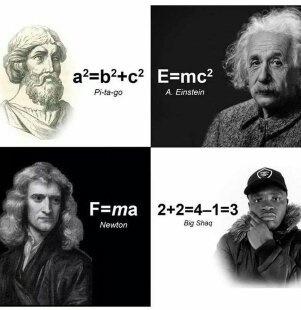 Big shaq the philosopher - meme