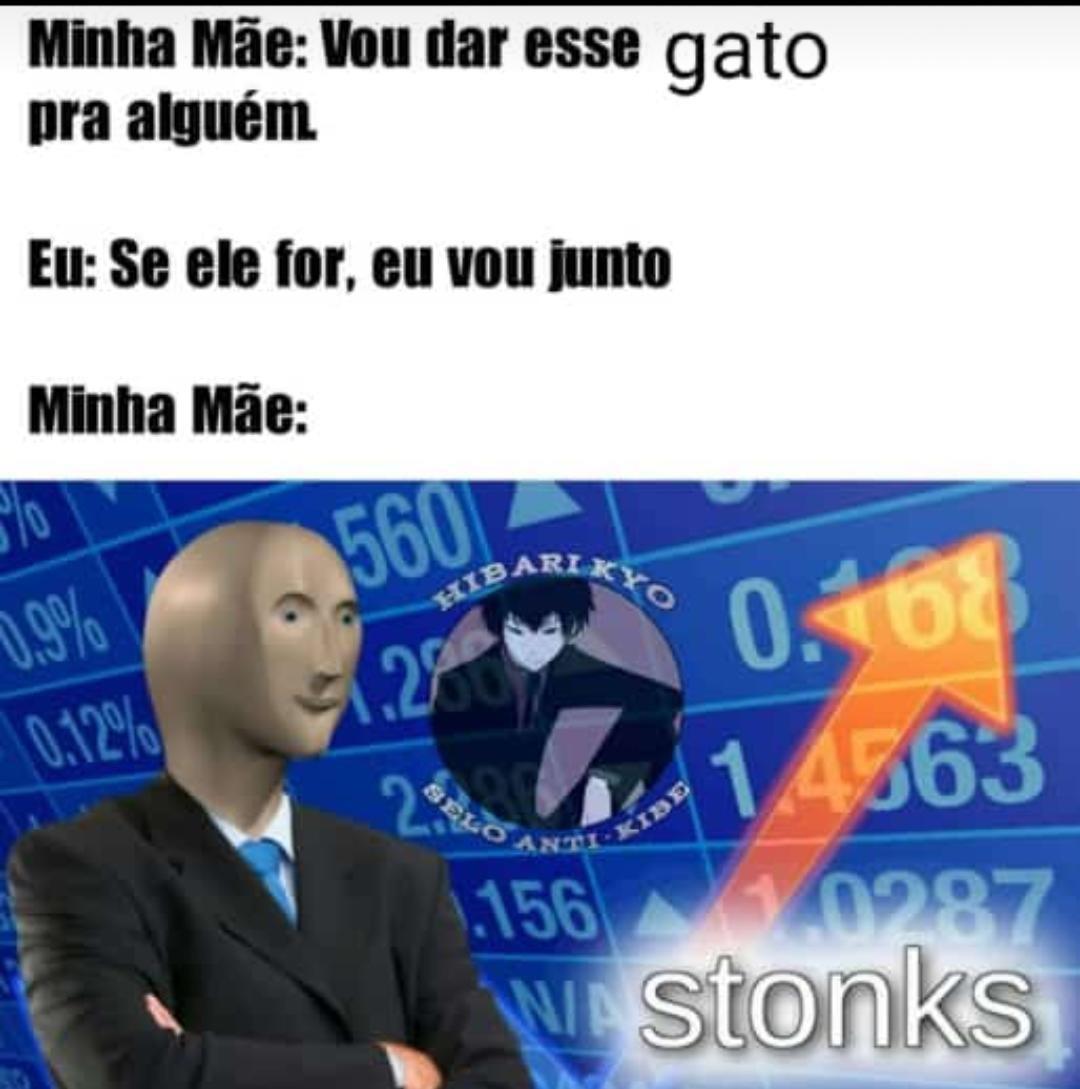 Stonks ⤴️ - meme