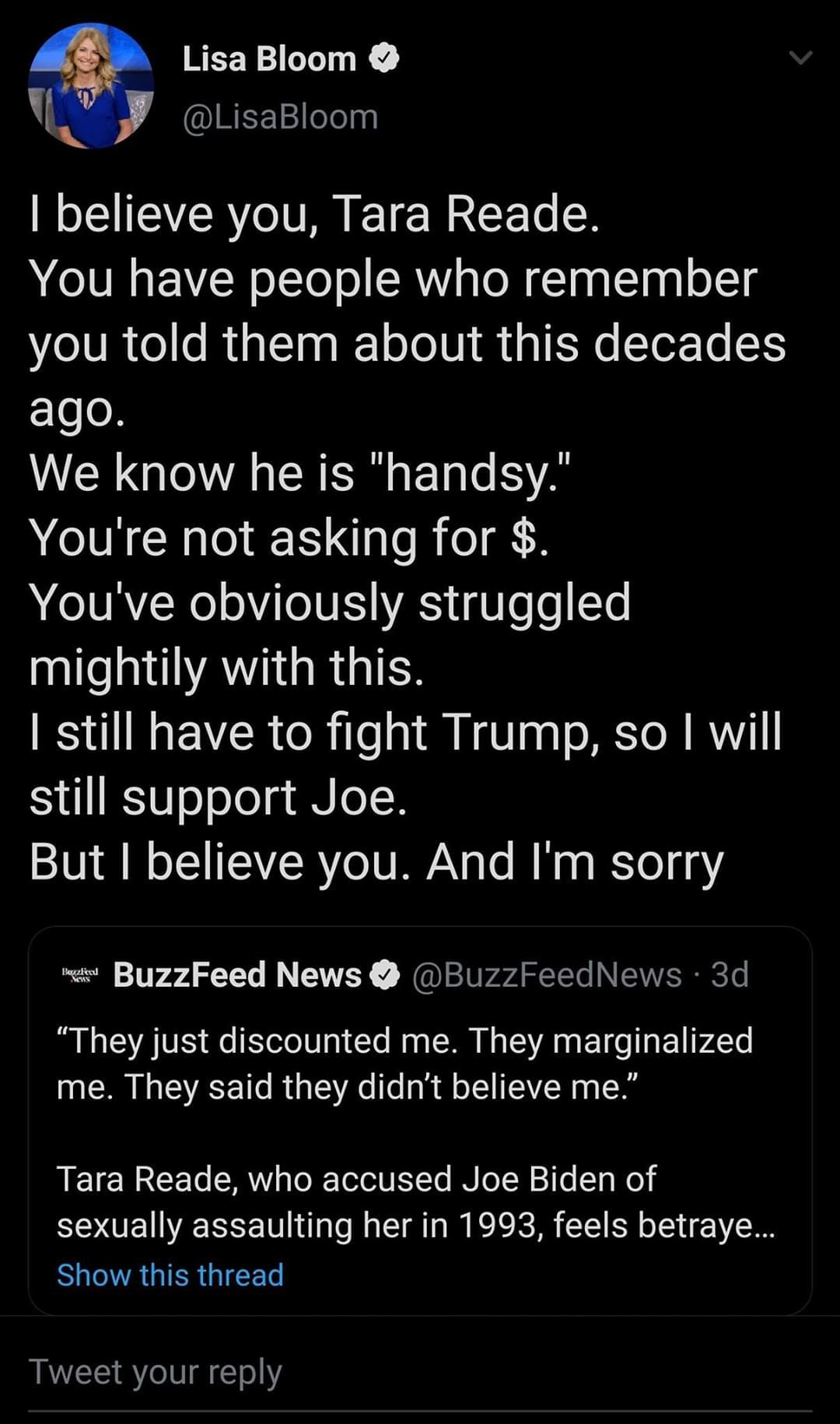 Imagine being betrayed because orange man bad xD - meme