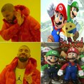 Mario verde y Luigi Rojo(? :v