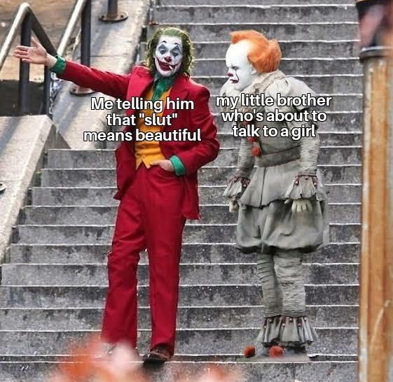 Slut means beautiful - meme