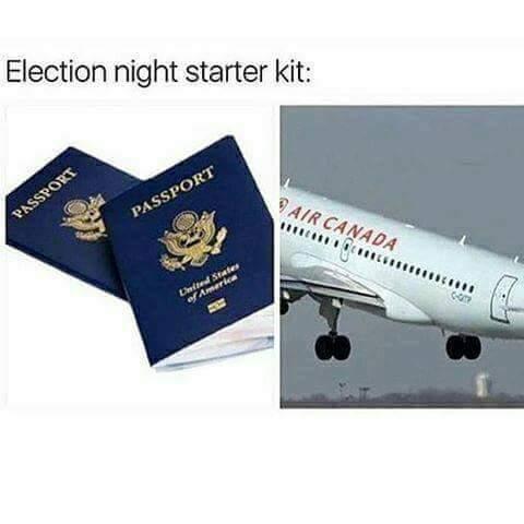 Starter pack de la nuit électorale - meme