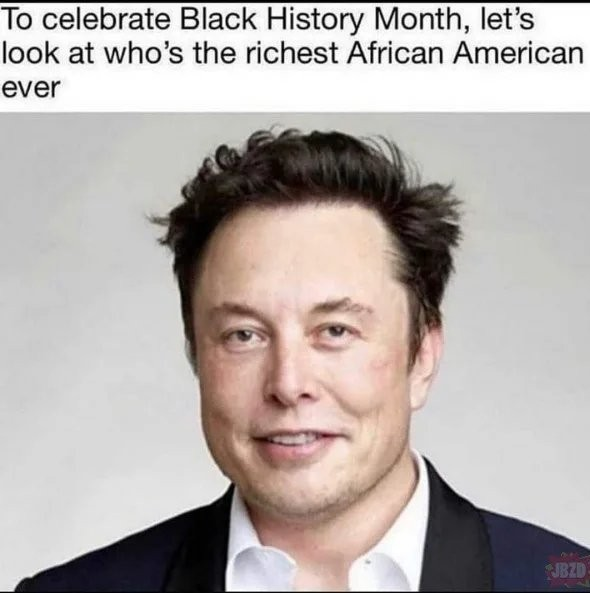 Happy Black History Month - meme