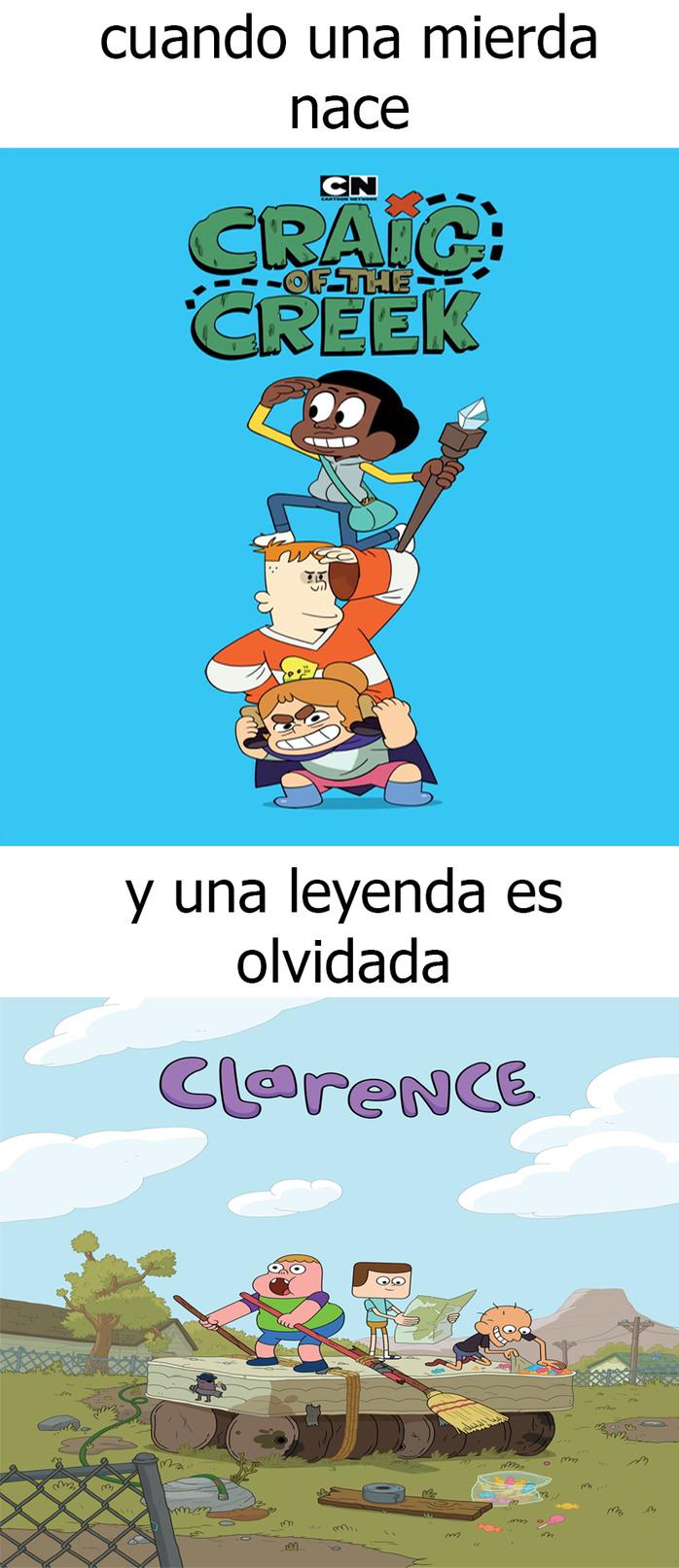 clarence - meme