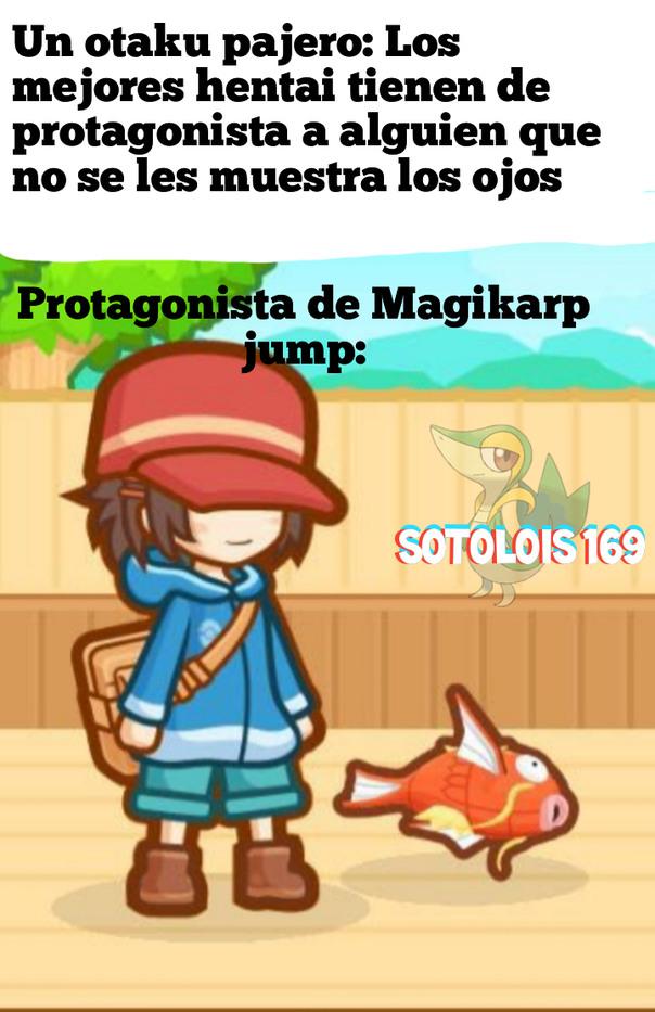 Se va a culear al pobre Magikarp - meme