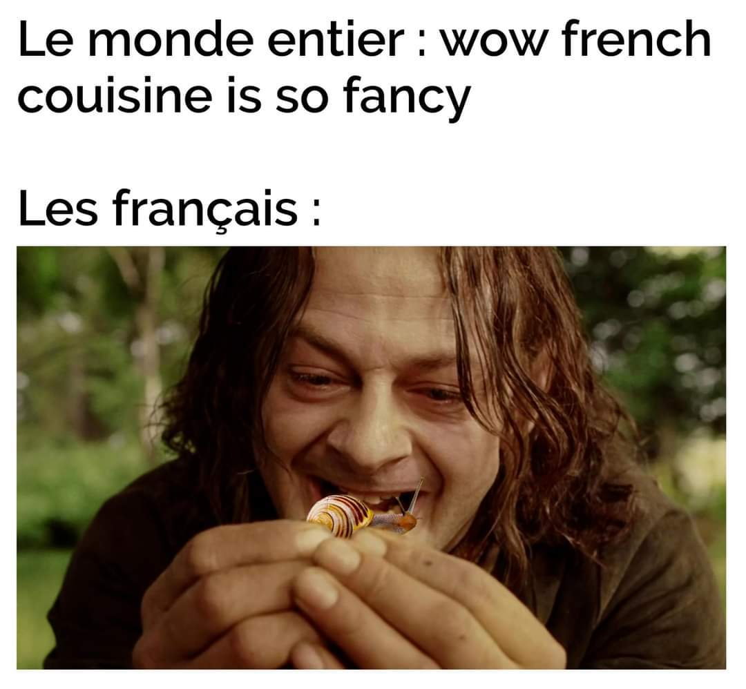 French couisine xD - meme
