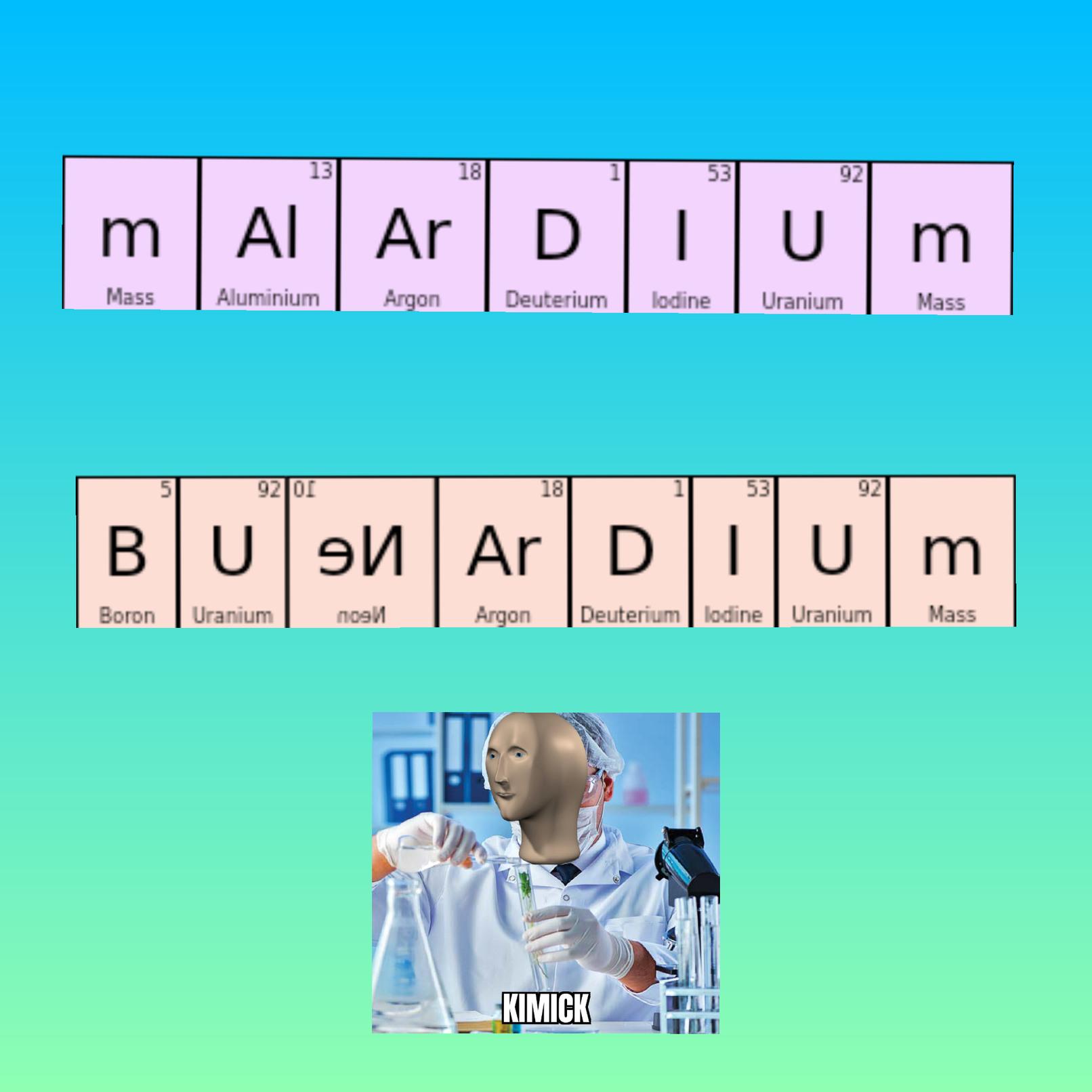 Química - meme