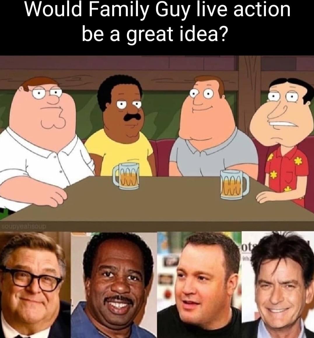 Live Action Family Guy - meme