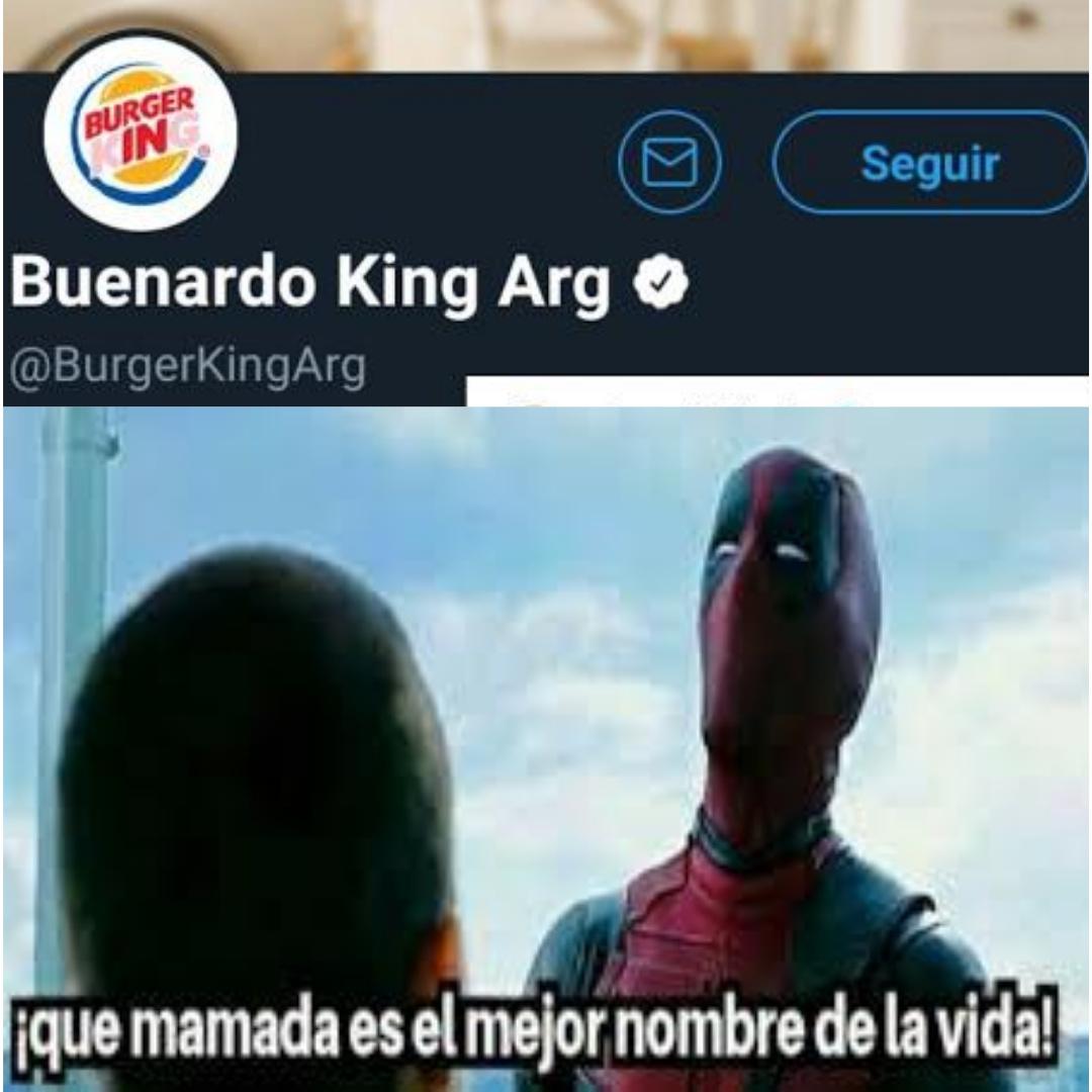 Buenardo king - meme