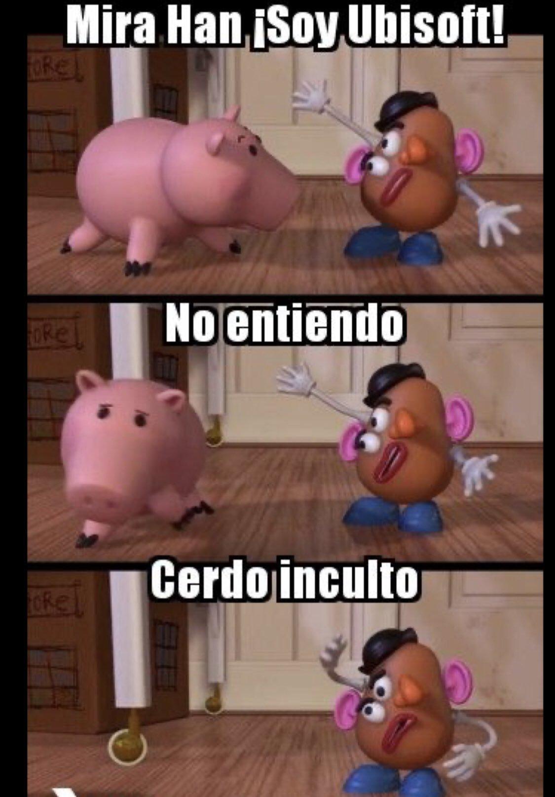 Cerdo Inculto - meme