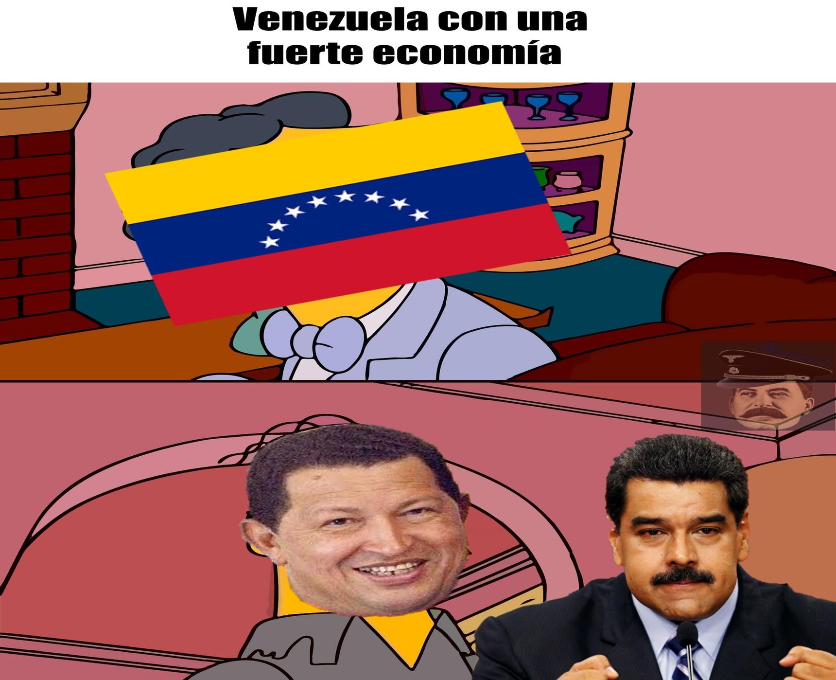 Venezuela era una país rico. - meme