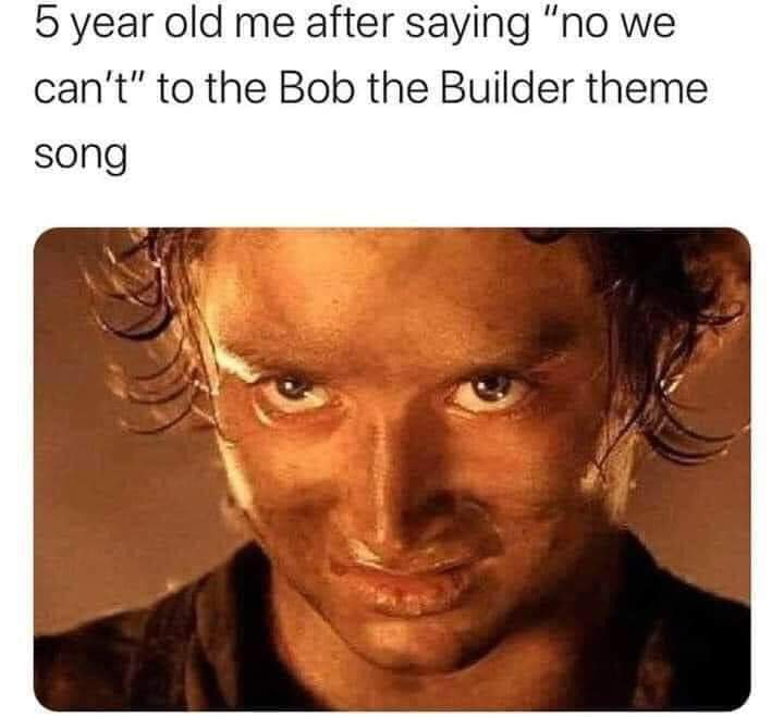 Such an edgy child - meme