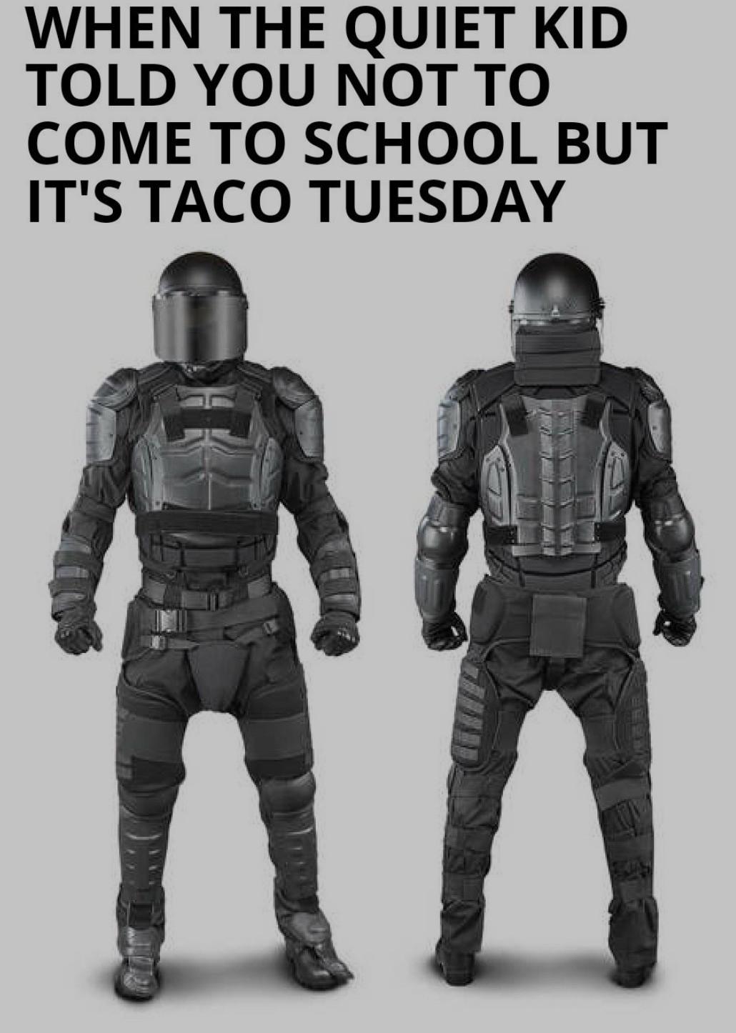 Who want taco - meme
