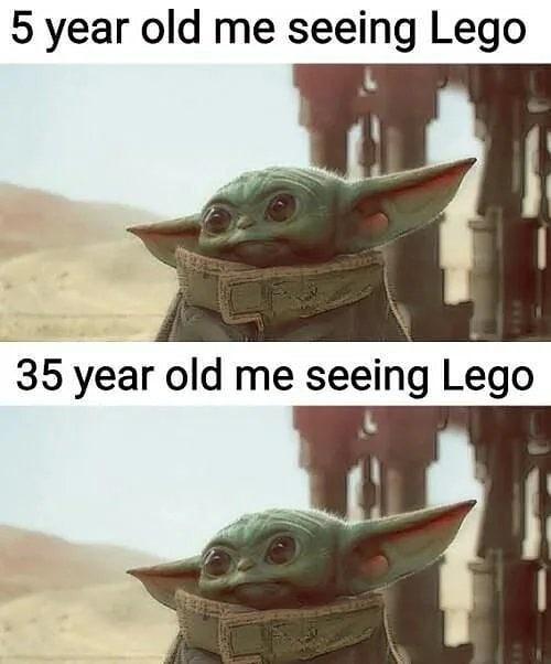 Baby yoda - meme