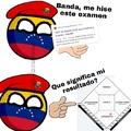 Creo que por eso los venezolanos estamos jodidos :D, en fin, deseenme suerte que mañana comienzo trabajo en la alcaldía