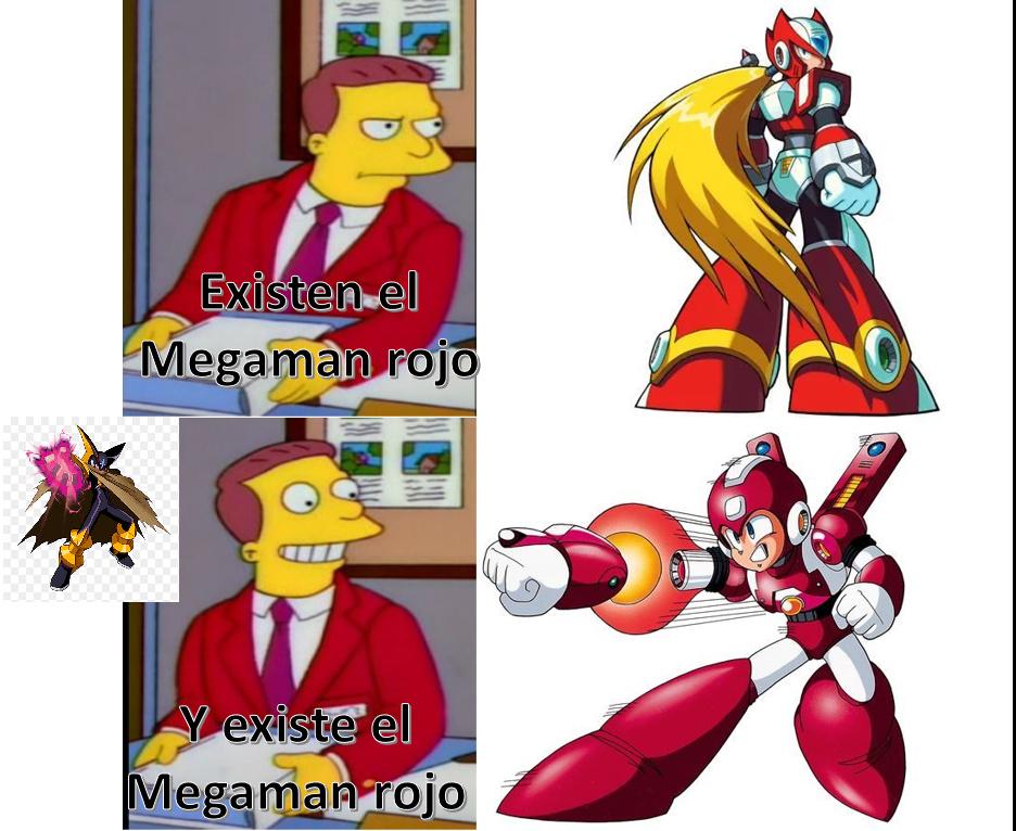 obviamente la rubia es el peor personaje de todo Megaman pero los moderadores llorones no lo entenderán - meme