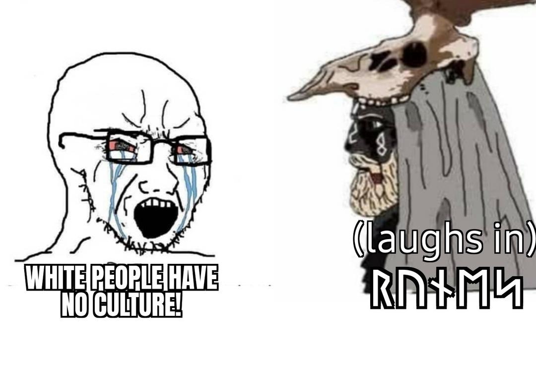 Huuuwhyyyyte peeeeeeple - meme