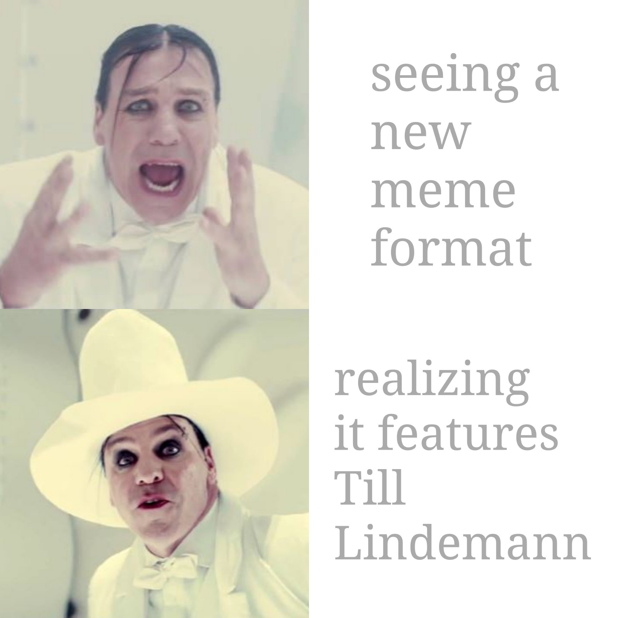 """Who better to carry the """"torch"""" than Rammstein? - meme"""