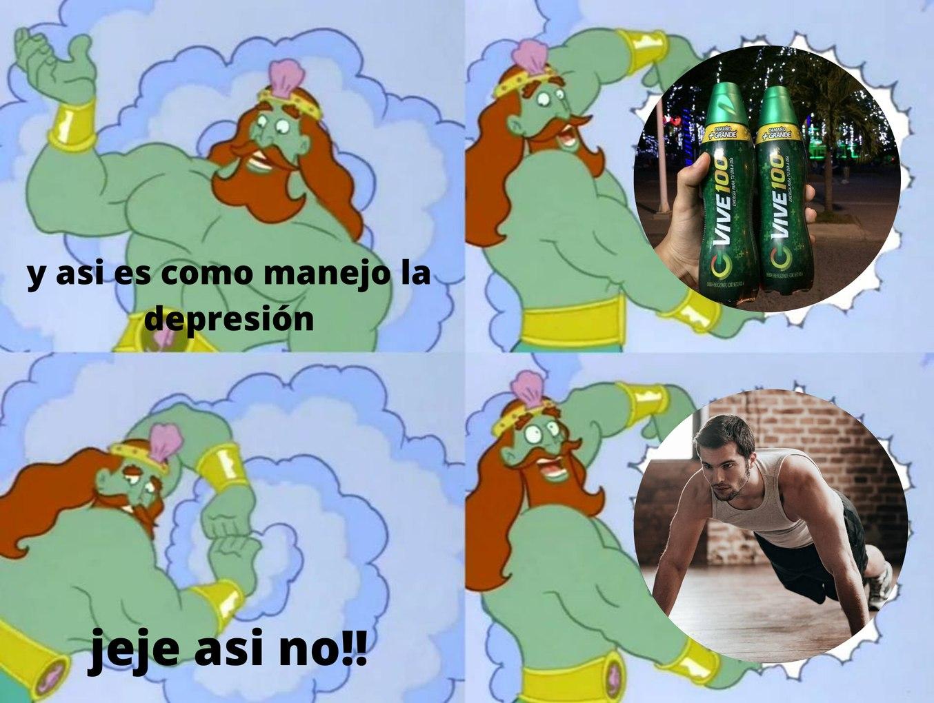 bebidas energéticas de las buenas - meme