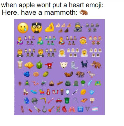 Apple users boutta be broke for an extinct elephant - meme