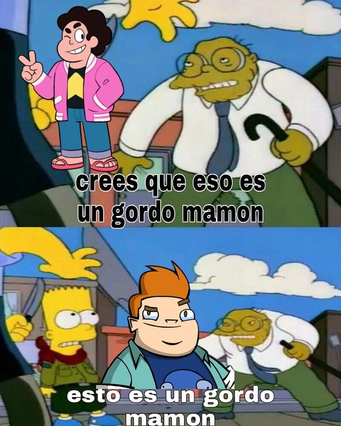 Gordos mamones - meme