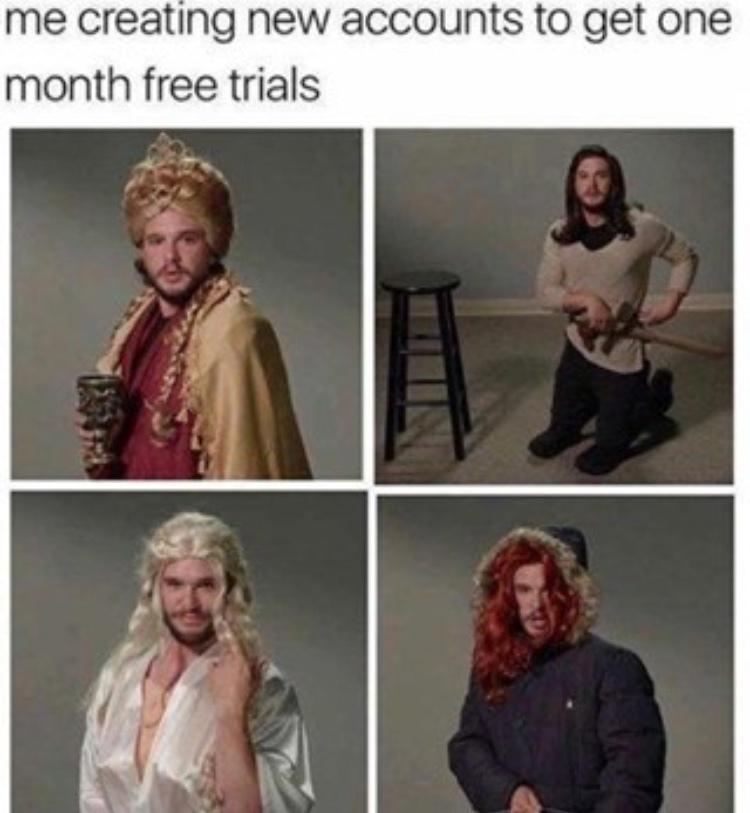 I am not Jon snow - meme