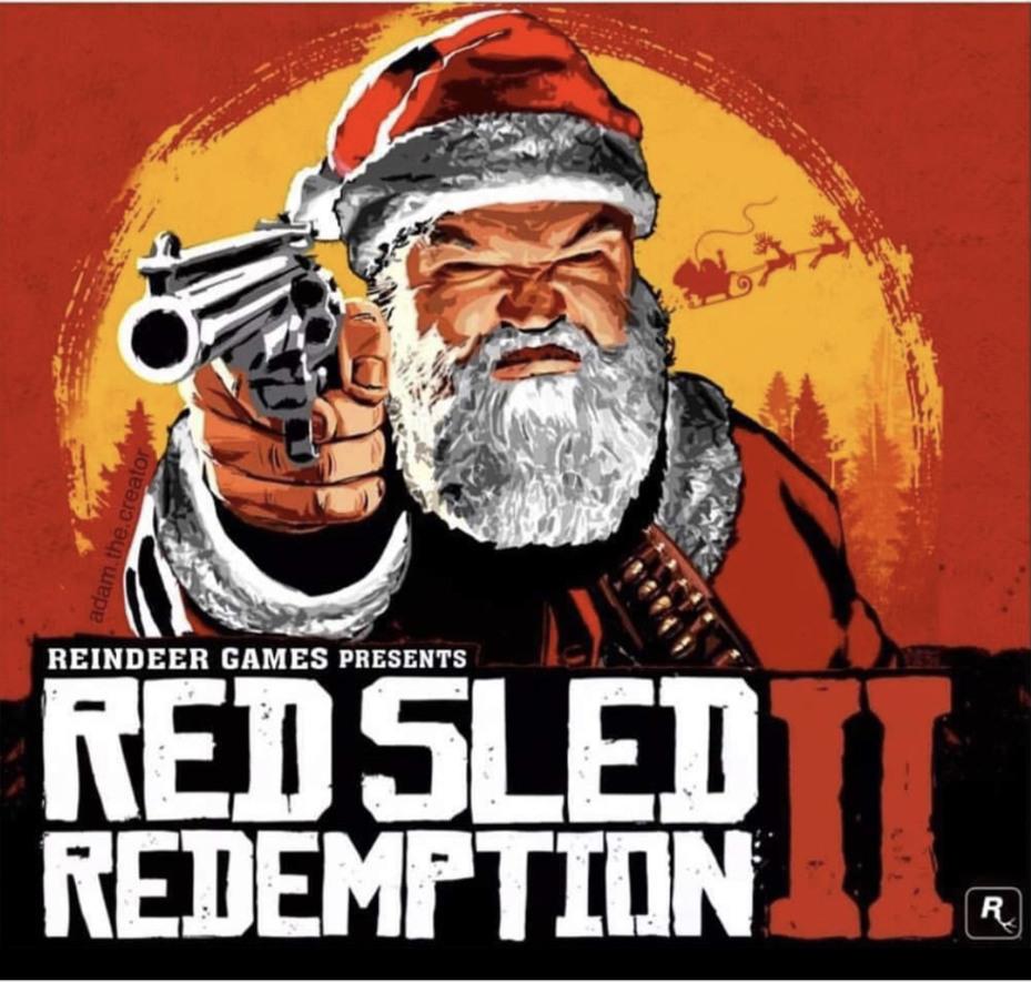 RDR2 Christmas Special - meme