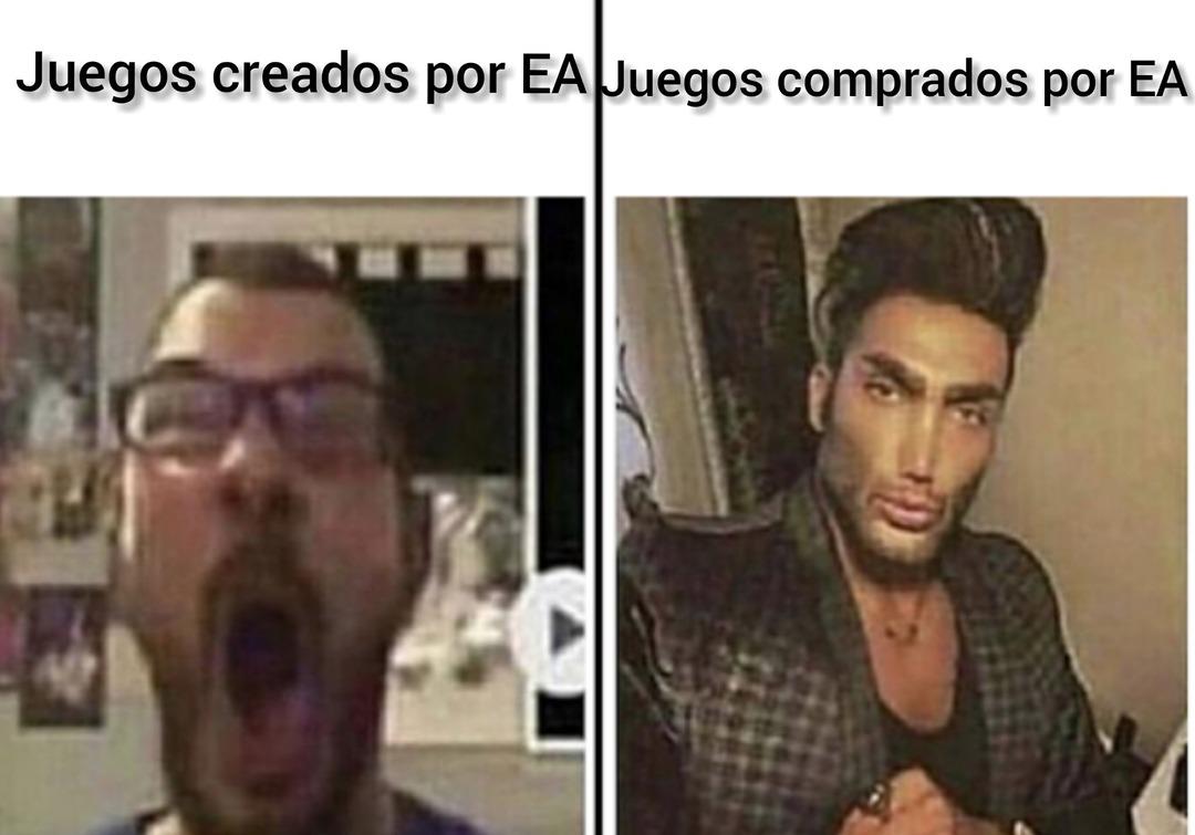 Cómo siempre EA - meme
