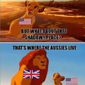 This is why there are no lions in Australia