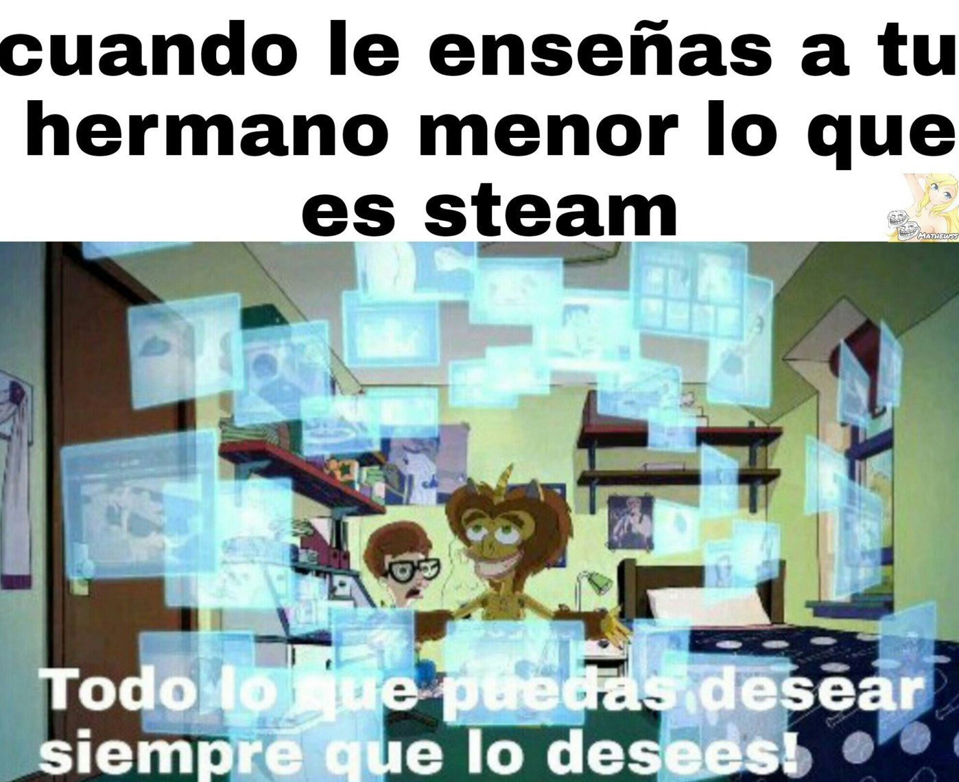 El steam - meme