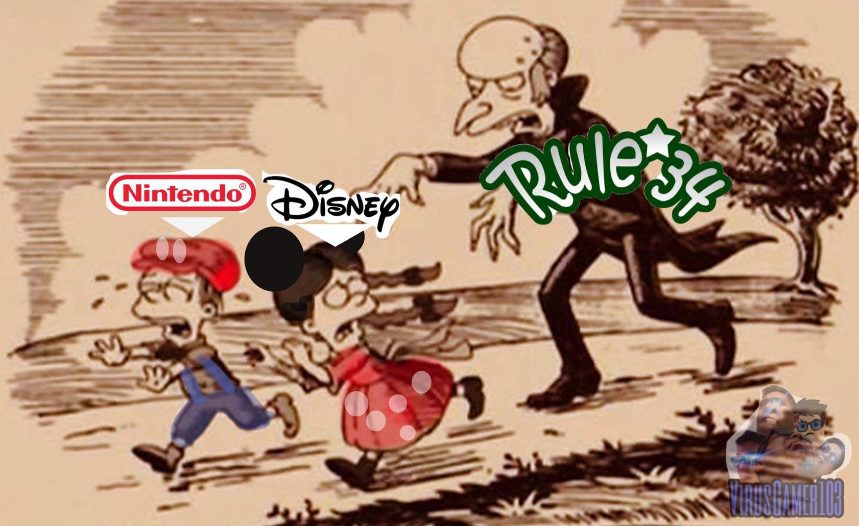 Nintendo y Disney son compañías family friendly. Blizzard no así que no vengan con la era de tracer - meme