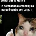 France 1-0 Allemagne