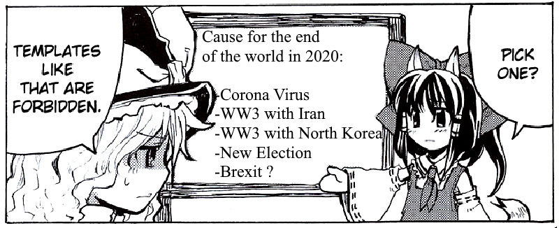 End of the world - meme