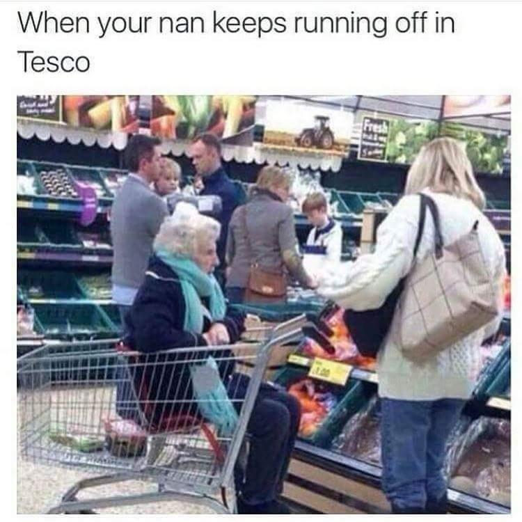 Nanny god! Stop it! - meme