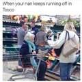 Nanny god! Stop it!