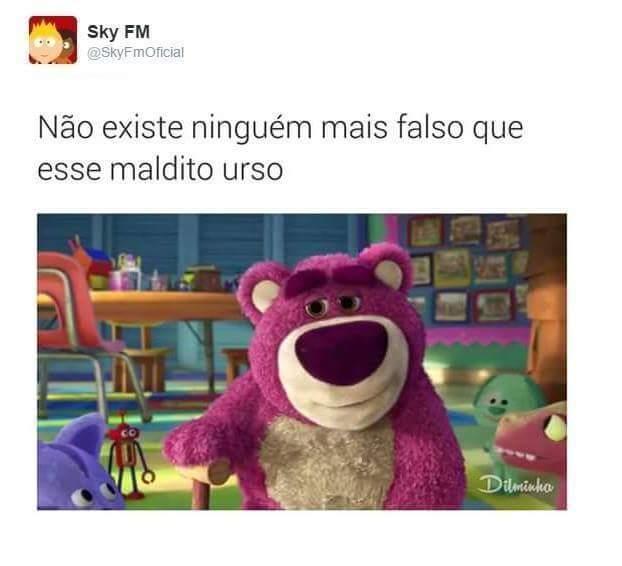 Urso falsiano - meme