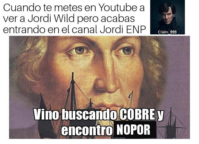 Jordi Salvaje - meme