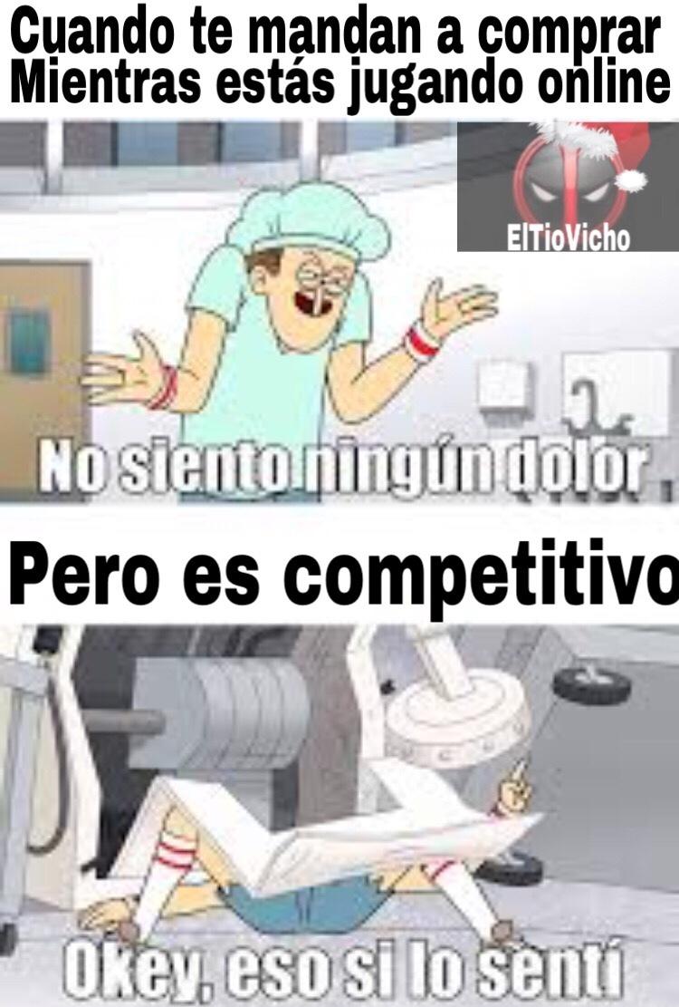 Competitivo... - meme