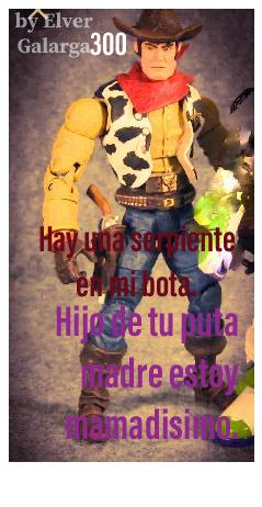 Woody bien mamado. - meme