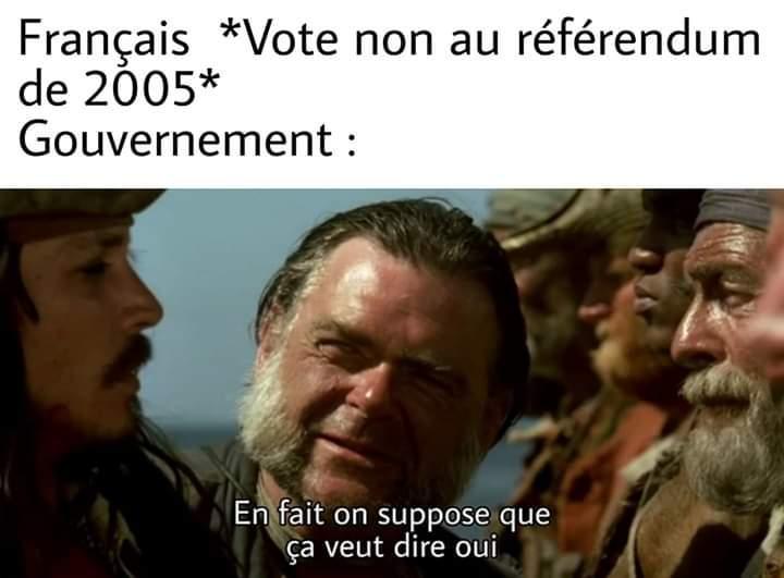Poste un meme contre l'UE et repart