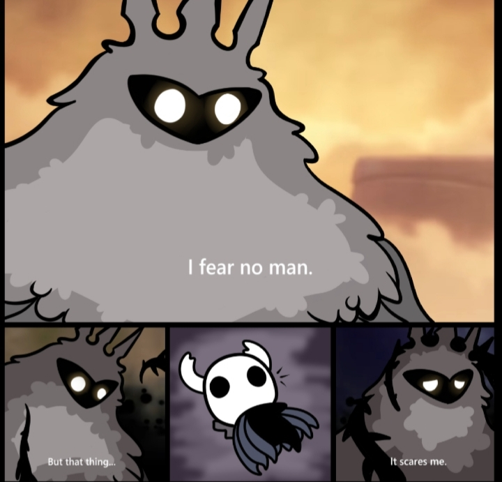 Hollow Knight is best knight - meme