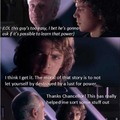 If anakin was smart.