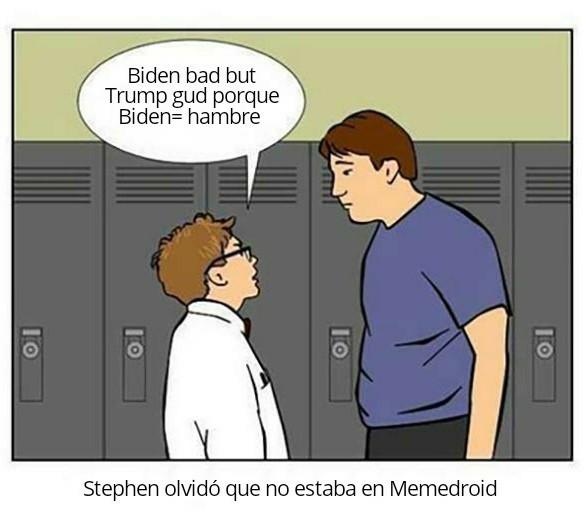 Datazo: decir que trump es mal presidente no me vuelve progre - meme