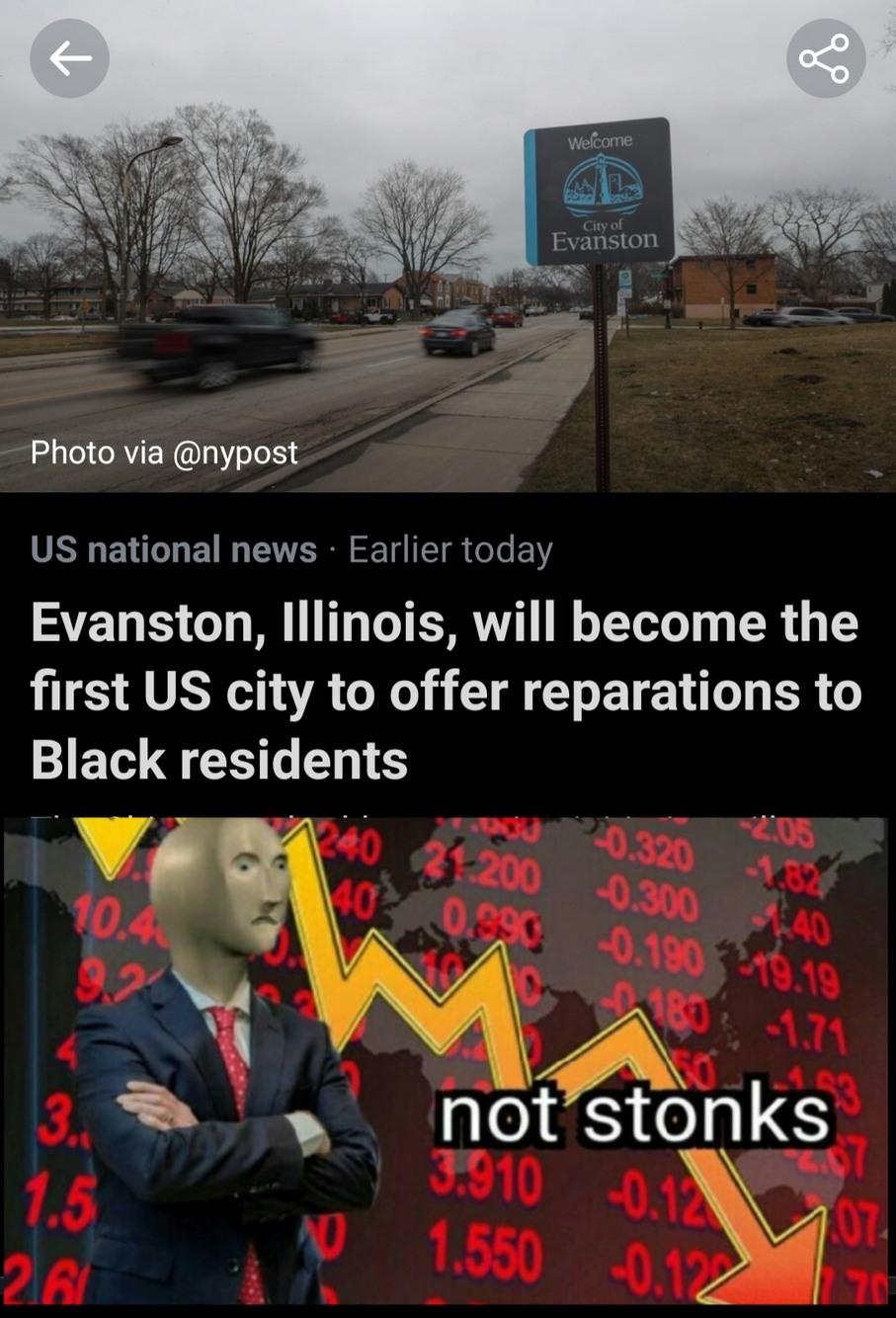 Illinois will fall apart - meme