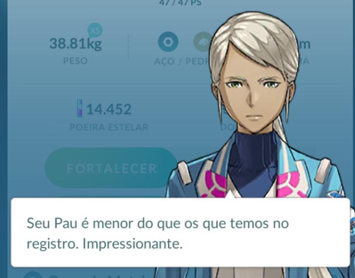 Quando até no pokemon go vc é humilhado - meme