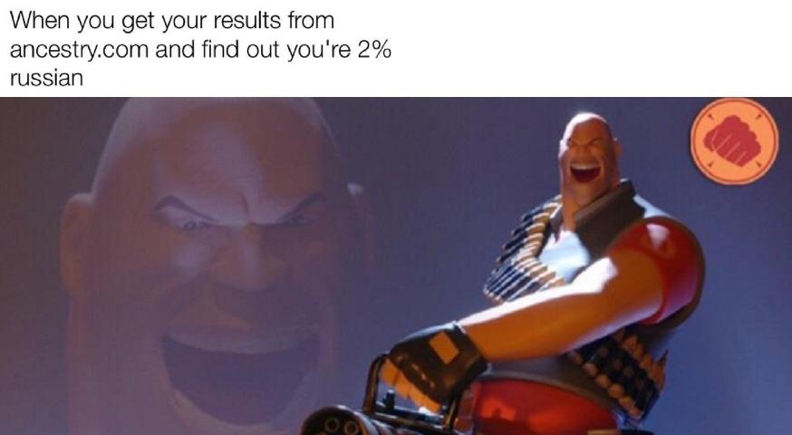 only 2%? I'm 99% - meme